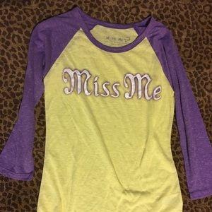 Little Girls Miss Me Shirt